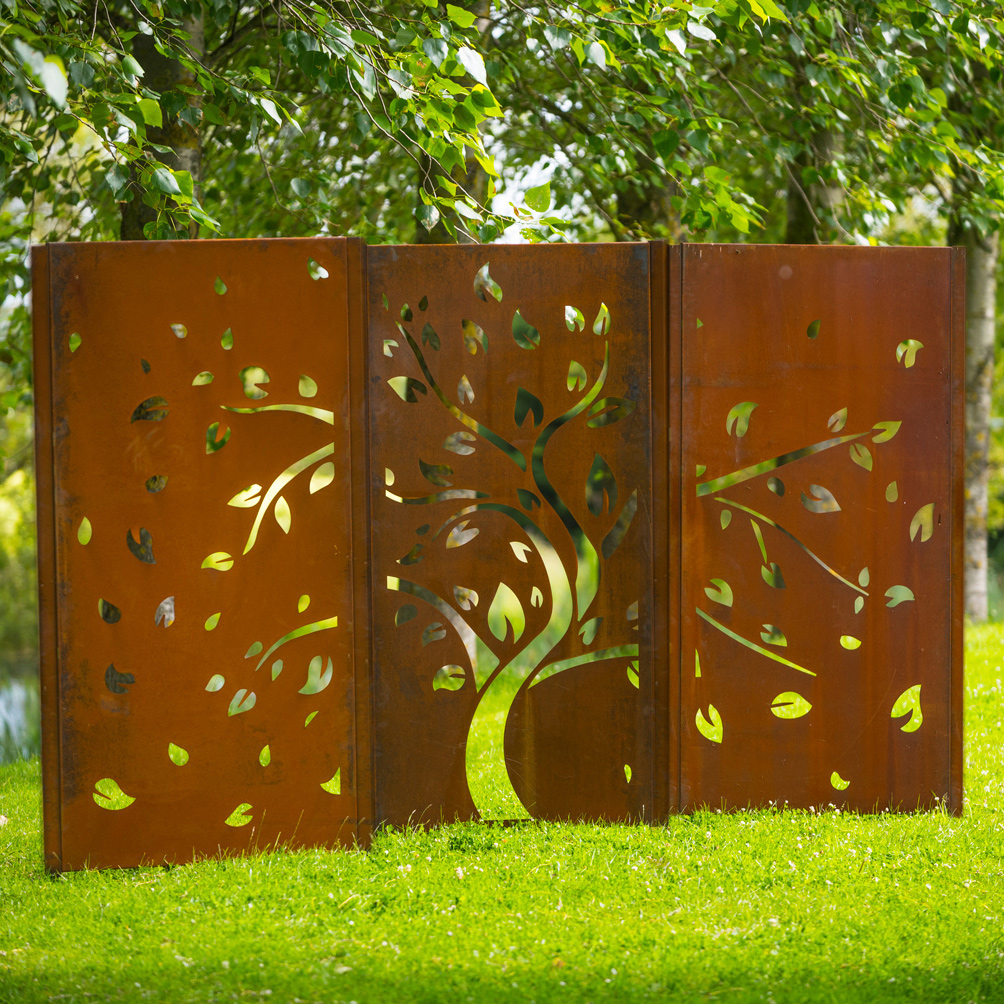 corten screens decori