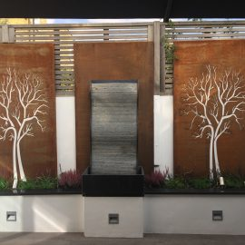 Corten bespoke design panels - wall art - decori
