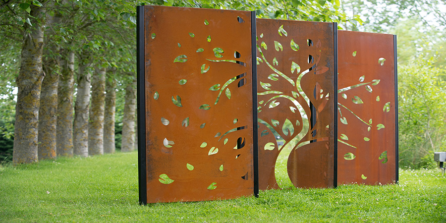 Decori Autumn winds garden screen